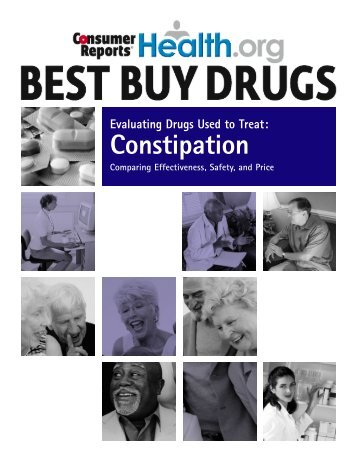 Constipation drugs compared - Consumer Reports Online