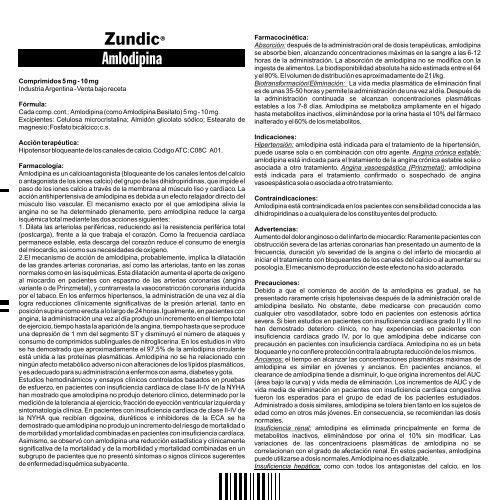 ¿Amlodipino besilato causa micción frecuente?