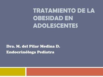 TRATAMIENTO DE LA OBESIDAD EN ADOLESCENTES - codajic