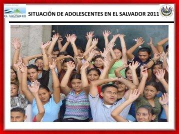 SITUACIÓN DE ADOLESCENTES EN EL SALVADOR ... - codajic
