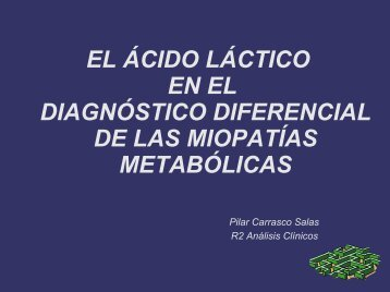 Sesión ácido láctico - hgucr