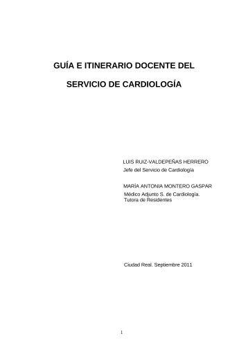 Guía Docente Cardiología - hgucr