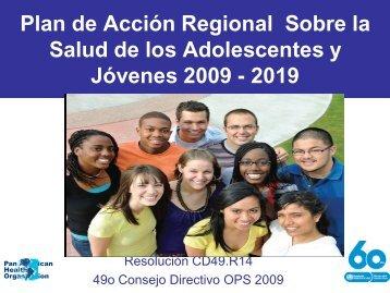 Plan de Acción Regional Sobre la Salud de los ... - codajic