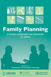 2011 UPDATE - Family Planning