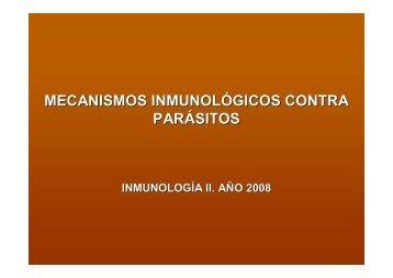 Inmunidad en Parásitos