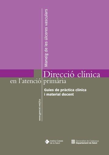 Direcció clínica - Generalitat de Catalunya