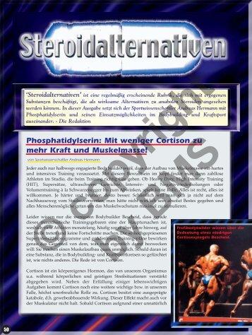 Phosphatidylserin: Mit weniger Cortison zu mehr Kraft und ...