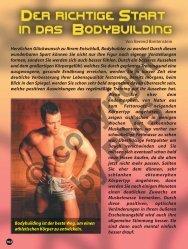 Der richtige Start in das Bodybuilding