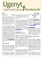 Uge 50/2009, Læs Ugenyt i PDF - Floradania