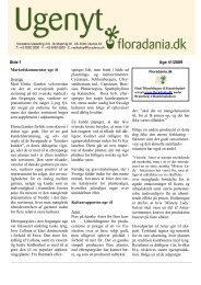 Uge 41/2009, Læs Ugenyt i PDF - Floradania