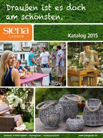 Siena Garden Katalog 2015