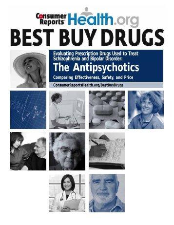 Antipsychotics compared - Consumer Reports Online