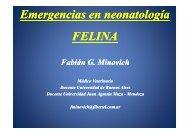 Emergencias en neonatología - Facultad de Ciencias Veterinarias