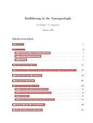Einführung in die Aussagenlogik - R. Golecki/J. Jungmann - 1990