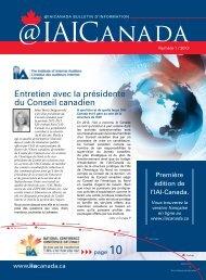 IAI-Canada - Chapters Site