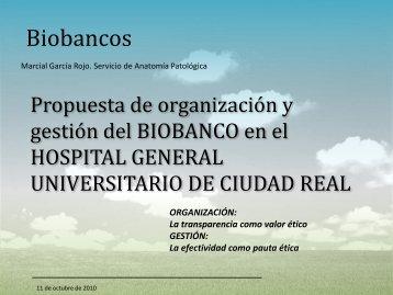 Biobancos - hgucr