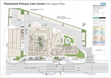 Fleetwood Primary Care Centre Site Layout Plan - FI holding page