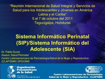 Sistema Informático del Adolescente (SIA) - codajic