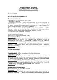 Listado de Cursos Primer Semestre 2013 - Facultad de Ciencias ...