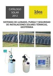 CATÁLOGO SOLAR IDEA CALOR 2012 - Decap SL.