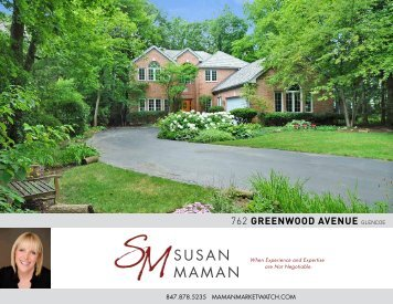 762 GREENWOOD AVENUE GLENCOE - Properties
