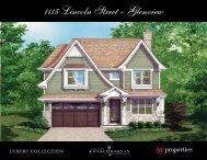 1115 Lincoln Street - Glenview - Properties