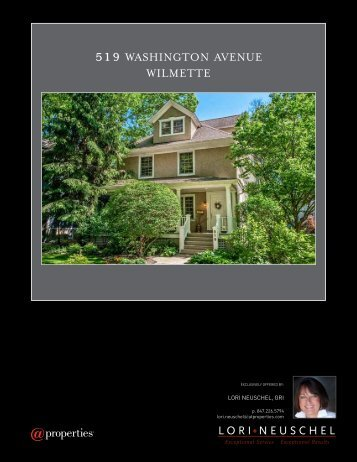 519 WASHINGTON AVENUE WILMETTE - Properties