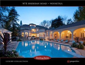 973 SHERIDAN ROAD – WINNETKA - Properties