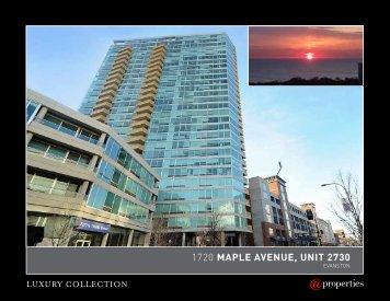 1720 maple avenue, unit 2730 - Properties