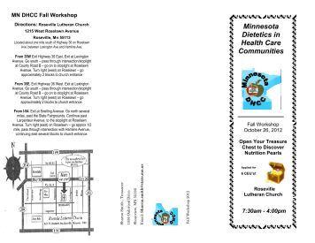 Minnesota Dietetics in Health Care Communities