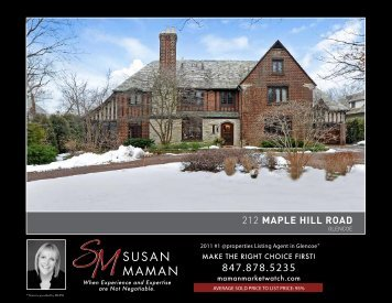 212 MAPLE HILL ROAD - Properties