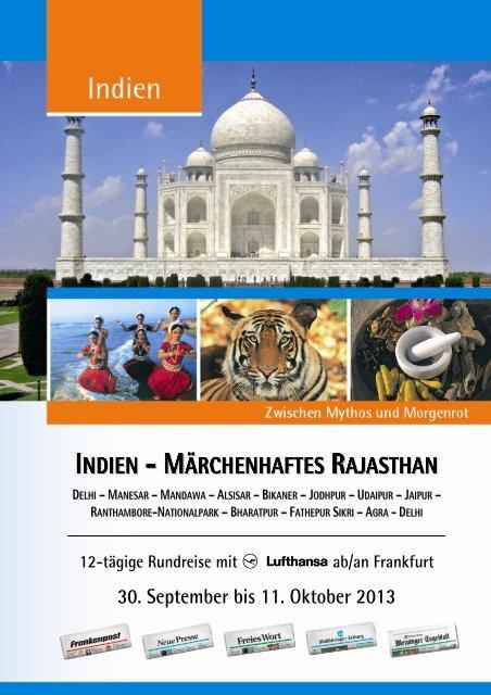 INDIEN - MÄRCHENHAFTES RAJASTHAN - Lesershop