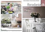 In Spitzenposition: Pflanzenneuheiten aus Dänemark - Floradania.dk