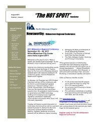 The Hot Spot Vol 1 Issue 2 - Chapters Site - The Institute of Internal ...