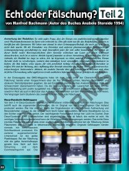 von Manfred Bachmann (Autor des Buches Anabole Steroide 1994)