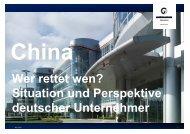 Wer rettet wen? Situation und Perspektive deutscher Unternehmer ...