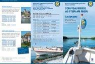 Stein am Rhein - Schweizerische Schiffahrtsgesellschaft Untersee ...