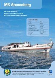 MS Arenenberg - Schweizerische Schiffahrtsgesellschaft Untersee ...