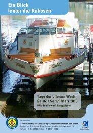 Ein Blick hinter die Kulissen - Schweizerische ...