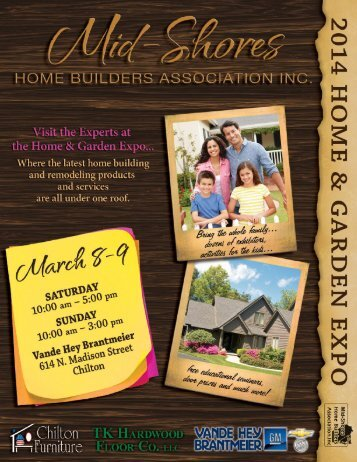 2013 Home & Garden Expo Brochure - Mid-Shores Home Builders ...