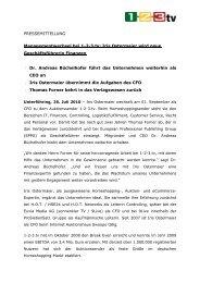 100723 PM 1-2-3tv_Managementwechsel - 1-2-3.tv GmbH