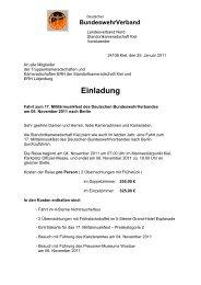 BundeswehrVerband - Standortkameradschaft Kiel