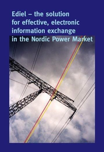 Ediel 9 juni - Ediel Nordic Forum