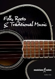 Folk, Roots & Traditional Music - Musicians' Union