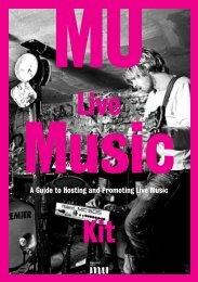Live Music Kit - Musicians' Union