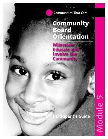 CBO Participation Guide Module 5