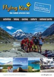 Flying Kiwi brochure