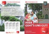 Flyer Ortsrat Bramel - SPD Schiffdorf