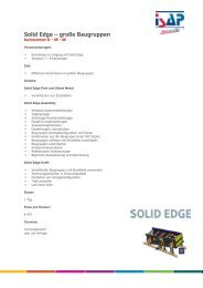 Solid Edge – große Baugruppen - ISAP Training - ISAP AG