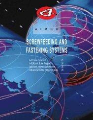 SCREWFEEDING AND FASTENING SYSTEMS - techsystem